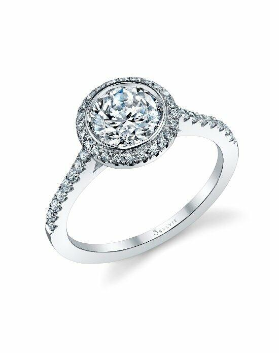 Sylvie Collection S1091 Engagement Ring photo