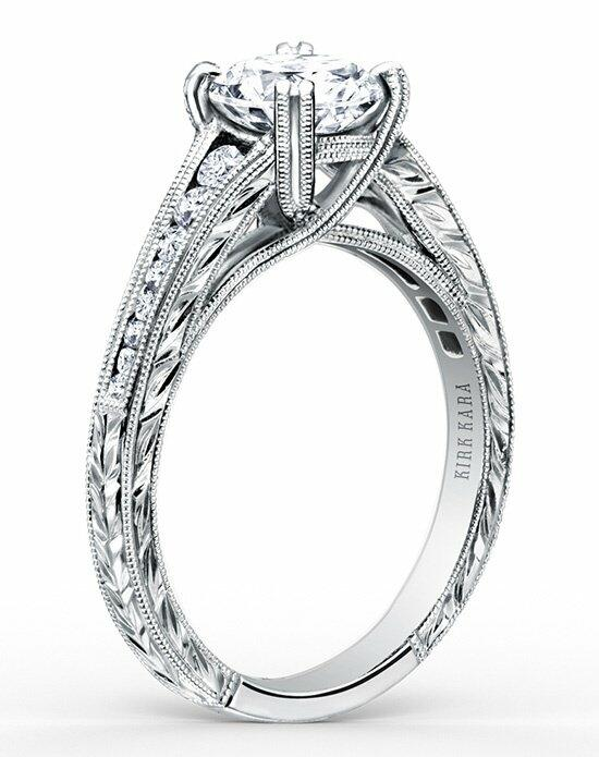 Kirk Kara Stella Collection K1140DC-R Engagement Ring photo