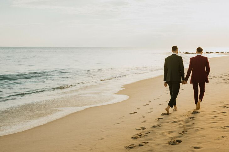 Beachfront Wedding Photos in Cape May, New Jersey