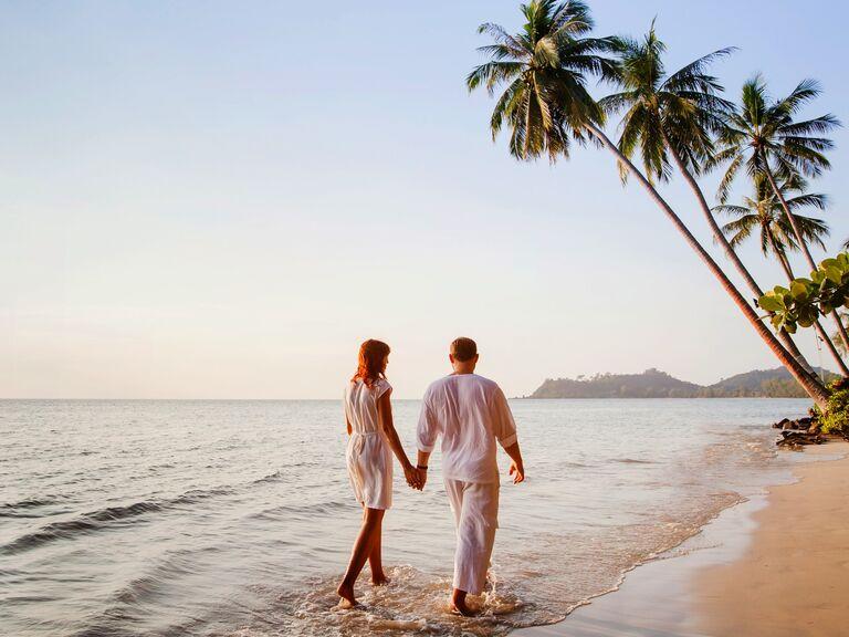 All inclusive ocean honeymoon