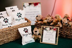 Wedding Favors Honoring Couple's Late Dog