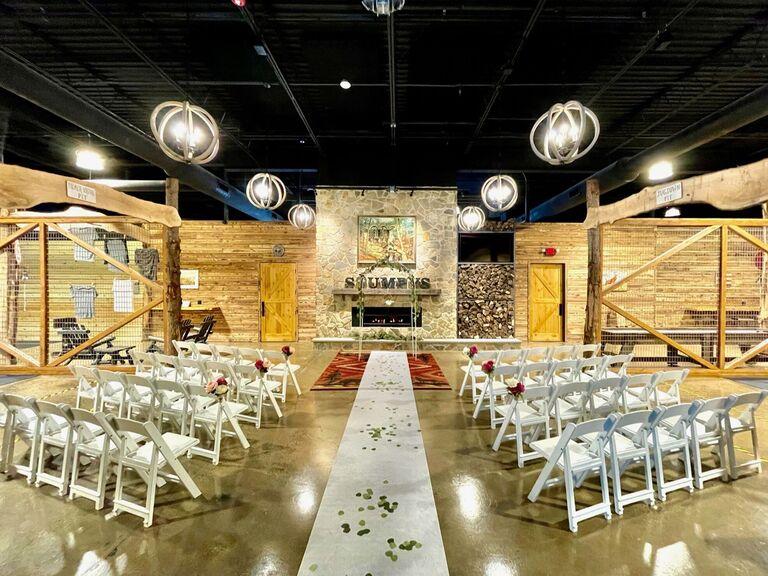 Wedding venue in Princeton, New Jersey.
