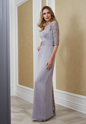 Jade Mother of the Bride by Jasmine J215057 Gray Mother Of The Bride Dress