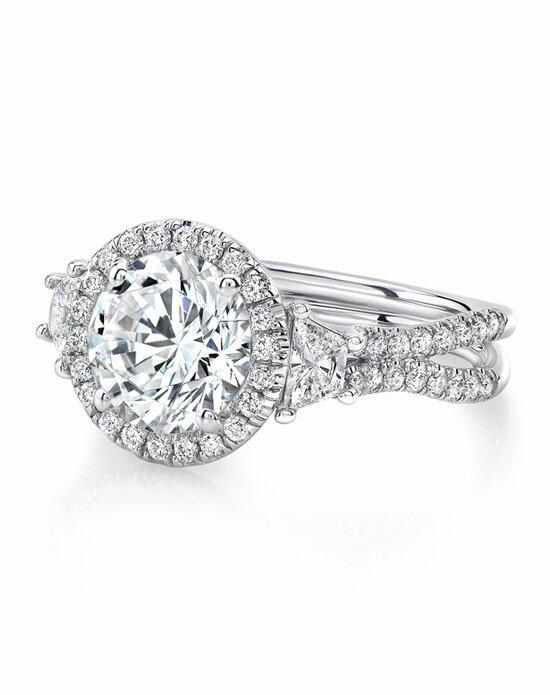 Uneek Fine Jewelry LVS983RD-8.2RD Engagement Ring photo