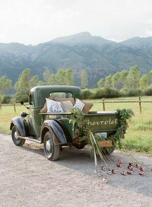 Vintage Getaway Truck