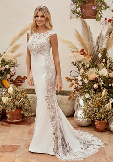 Beloved by Casablanca Bridal BL339 Frankie Sheath Wedding Dress