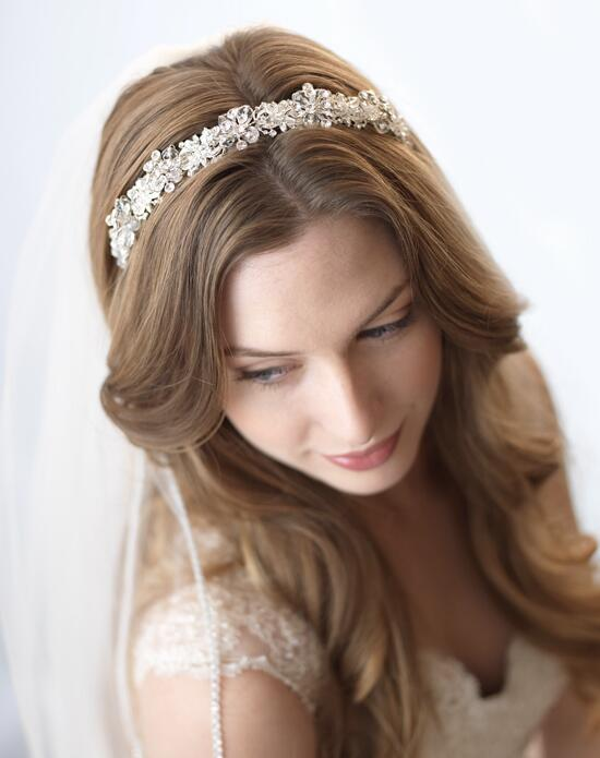 USABride Eternity Swarovski Crystal Headband TI-3069 Wedding Headbands photo