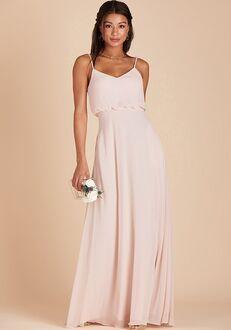 Birdy Grey Gwennie Dress in Pale Blush V-Neck Bridesmaid Dress