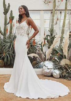 Beloved by Casablanca Bridal BL341 Memphis Sheath Wedding Dress