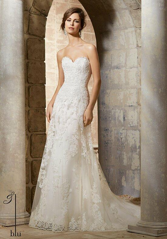 Blu by Madeline Gardner 5367 Wedding Dress photo
