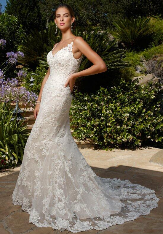 Casablanca bridal 2232 tulip wedding dress the knot for Casablanca lace wedding dress