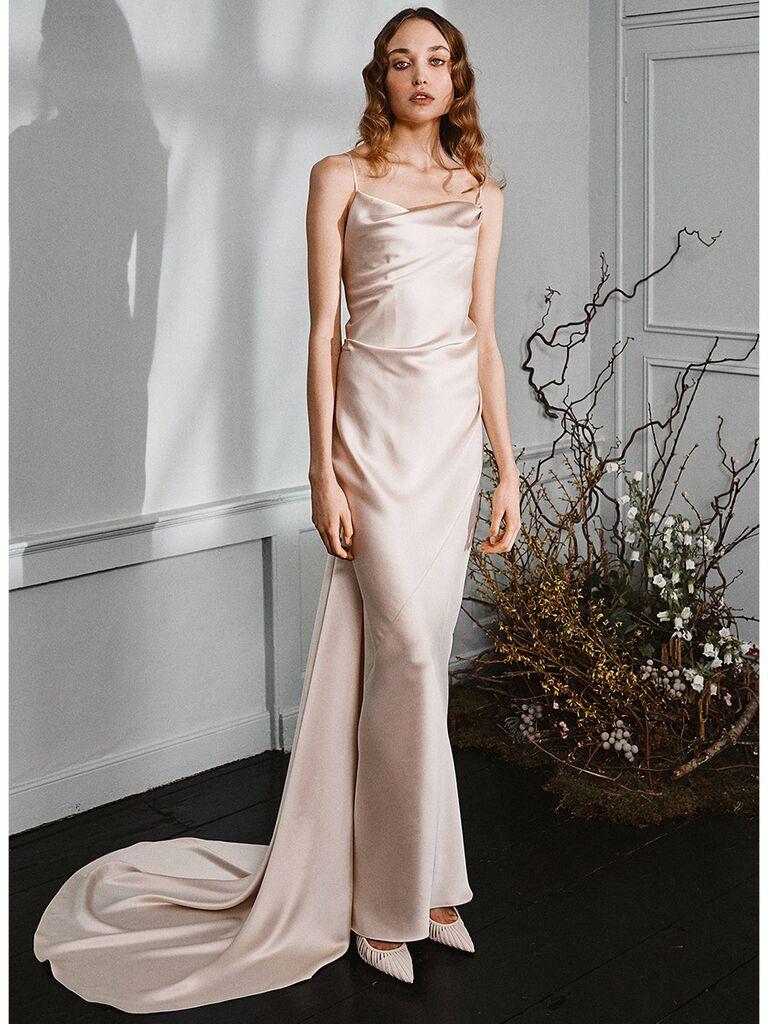 Vintage Slip Wedding Dresses