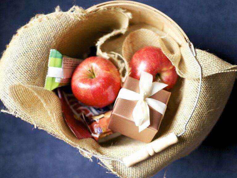 North Dakota apples