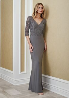 Jade Mother of the Bride by Jasmine J215066 Silver Mother Of The Bride Dress