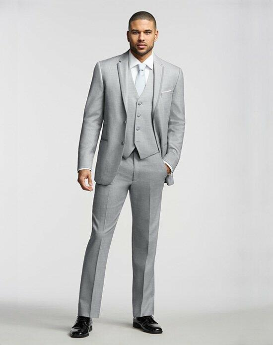 The Men's Wearhouse® Joseph Abboud Framed Edge Gray Tuxedo Wedding Tuxedos + Suit photo