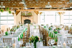 Long Tables With White Linens