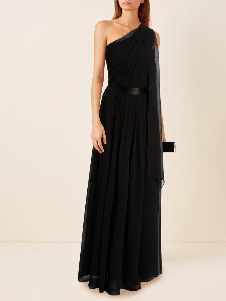 Max Mara Berger one-shoulder dress