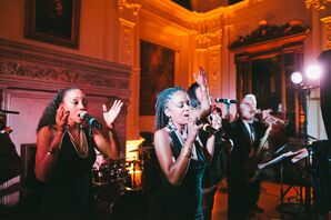 James Leary Flood Mansion Reception Live Band