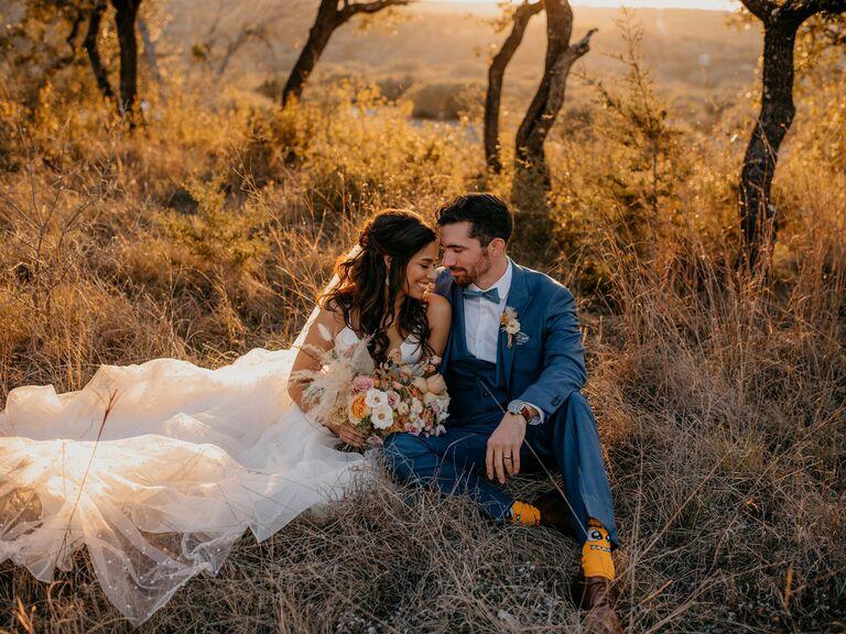 outdoor wedding venues mae's ridge in texas