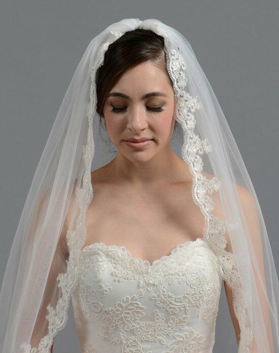 Tulip Bridal Lace Mantilla Veil-V036 Wedding Veils photo