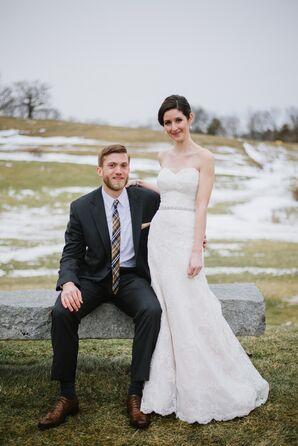 Classic, Lace A-Line Wedding Dress
