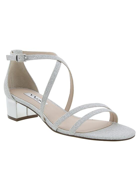 Nina Bridal Genji Silver Bliss Wedding Shoes photo