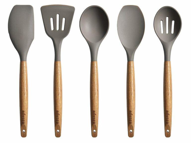 Miusco silicone cooking utensil set Amazon wedding registry gift