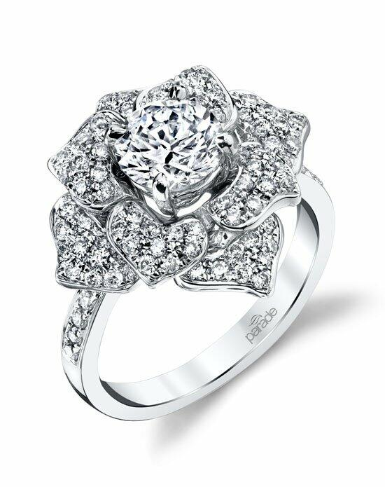 Parade Design Style R3685 from the Lyria Bridal Collection Engagement Ring photo