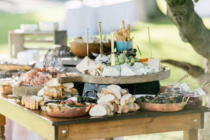 Cocktail Hour Appetizer Buffet