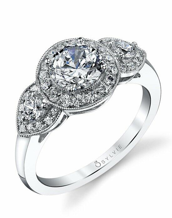 Sylvie Collection S1226 Engagement Ring photo