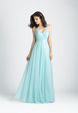 Allure Bridesmaids 1506 Halter Bridesmaid Dress