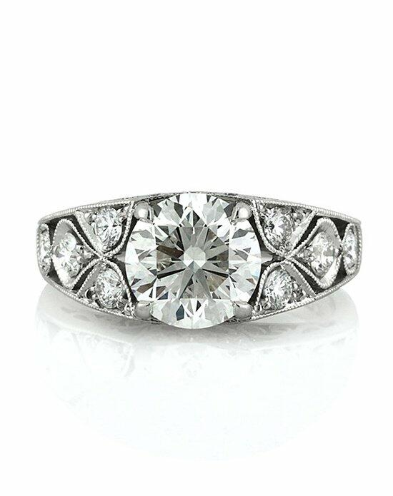 Mark Broumand 2.25ct Round Brilliant Cut Diamond Vintage Style Engagement Ring Engagement Ring photo