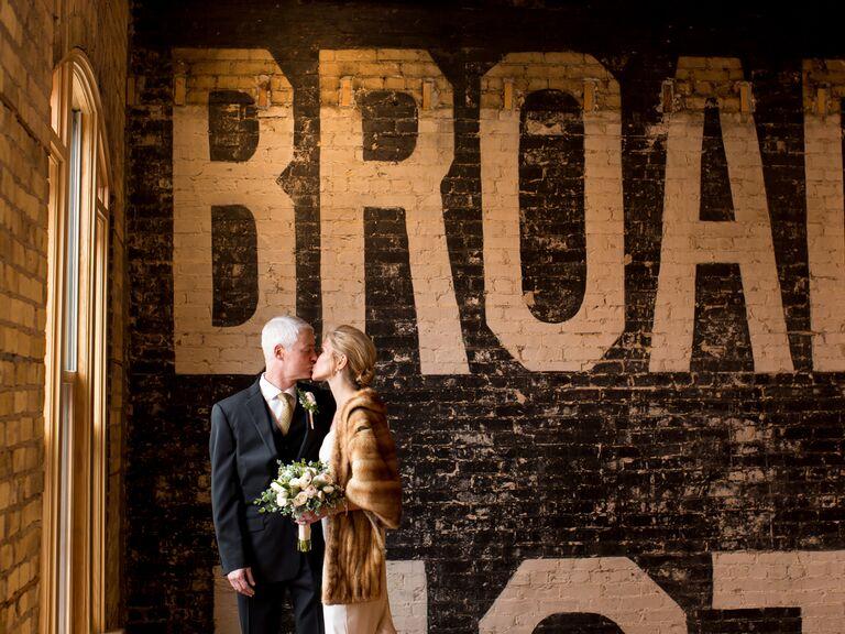 North Dakota indoor wedding
