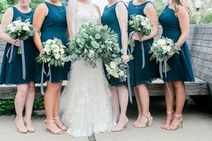 Preppy Oversized Eucalyptus, Fern and Ruscus Bouquets