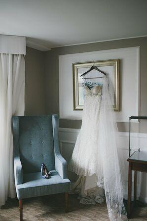 Mermaid-Style Allure Bridals Wedding Dress