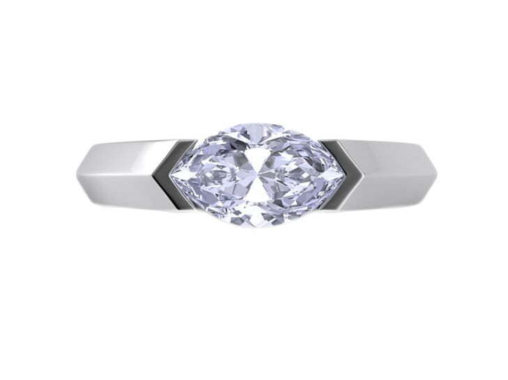 danhov marquise engagement ring