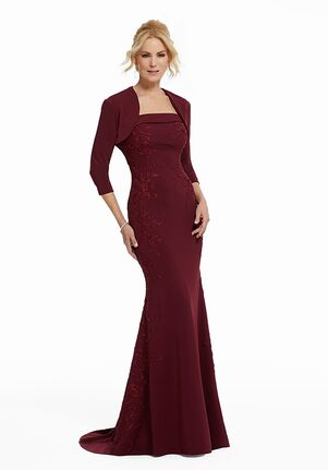 MGNY 72029 Blue,Red Mother Of The Bride Dress