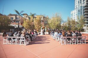 Ceremony at El Cortez Outdoor Venue