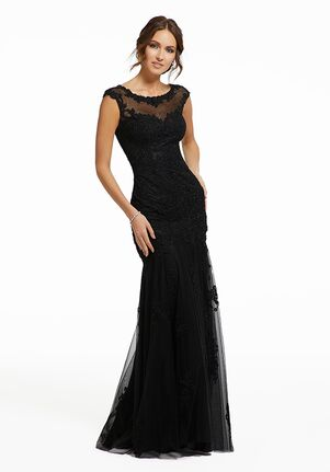 MGNY 72008 Black,Green Mother Of The Bride Dress