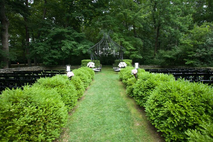 """""""The Lord Thompson Manor was the first and last place we visited for our wedding venue,"""" says the bride. """"As soon as we arrived and heard about their concept of a 'wedding weekend,' we fell in love with the place!"""""""