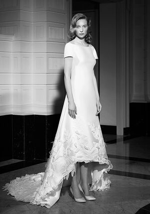 Viktor&Rolf Mariage GRACEFUL FLORAL HIGH-LOW A-Line Wedding Dress