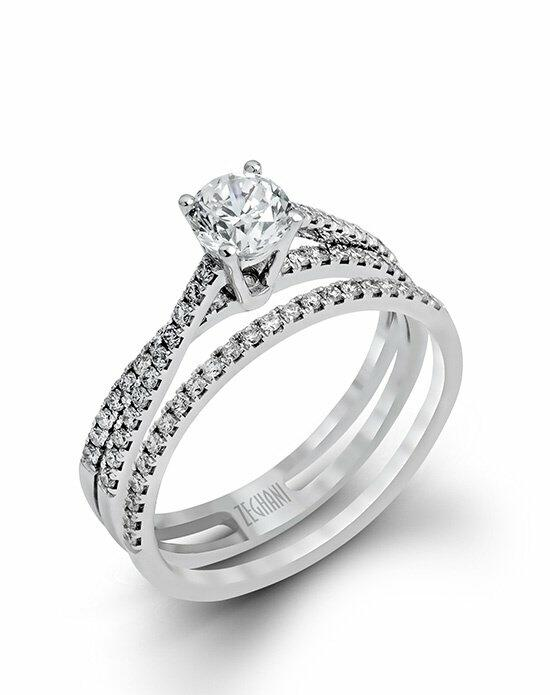 Zeghani ZR1106 Engagement Ring photo