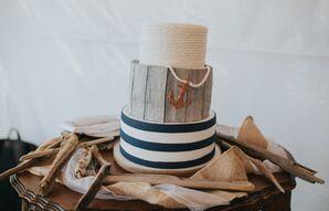 Nautical-Inspired Wedding Cake