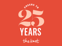 The Knot 25th anniversary