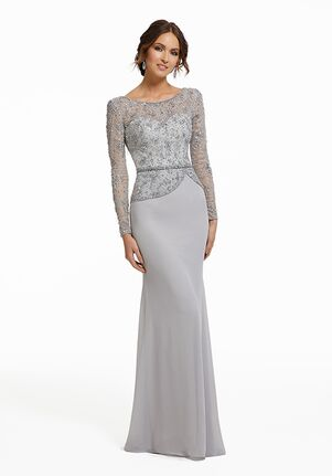 MGNY 72010 Gray,Silver,Green,Blue Mother Of The Bride Dress