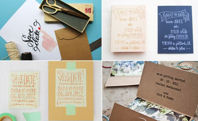 6 Diy Save The Date Templates You Can