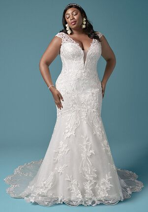 Maggie Sottero KEENAN LYNETTE Sheath Wedding Dress