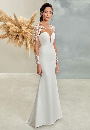 Demetrios L1025 Sheath Wedding Dress