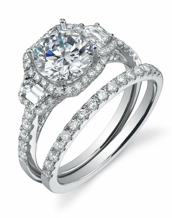 Sylvie Collection SY172 Engagement Ring photo