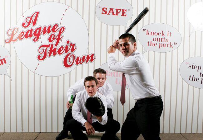 Baseball Photo Booth | John Schnack Studios | Blog.TheKnot.com